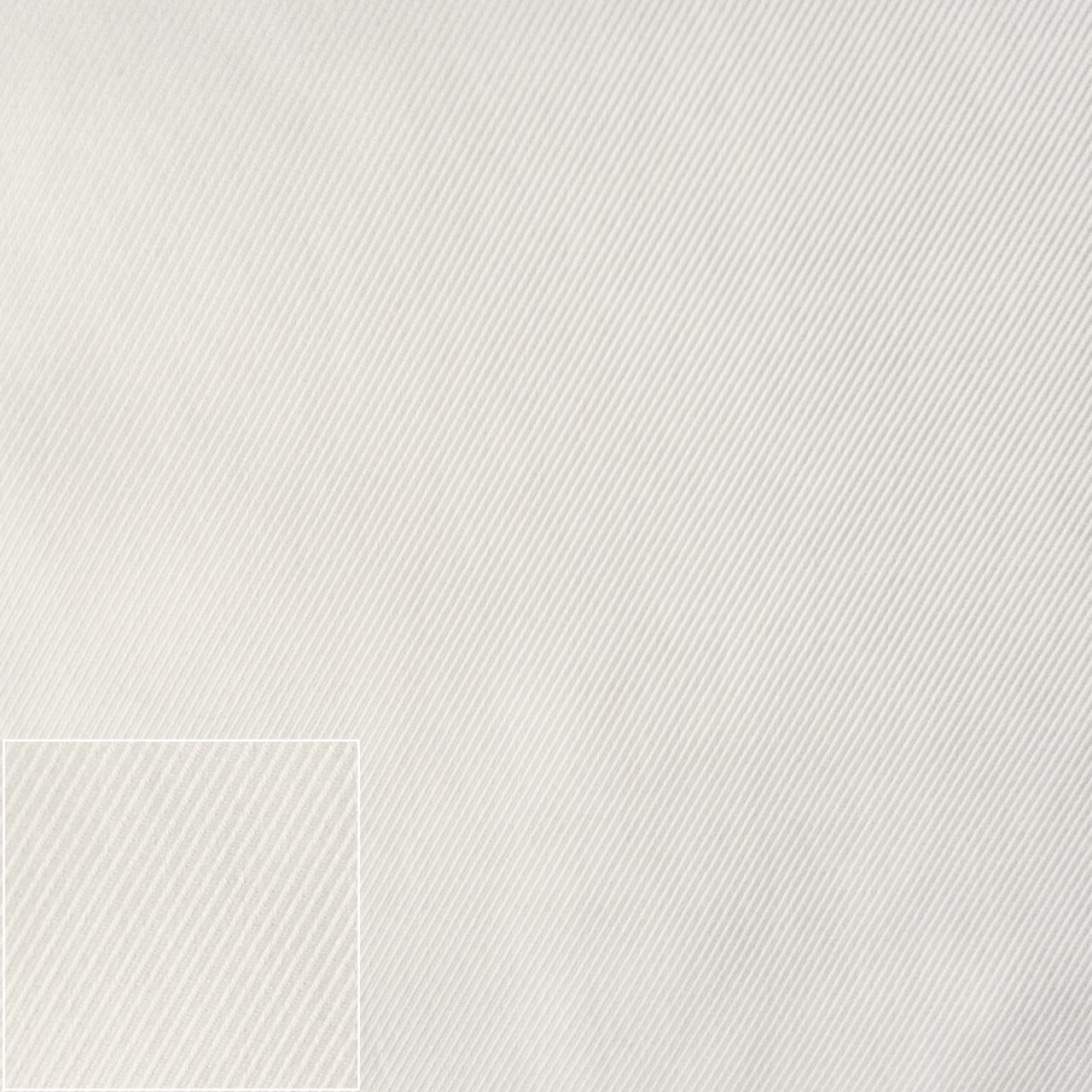 Bílá diagonála T46, 100/2, Twill