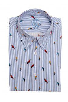 Košile Papoušci